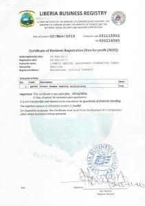 Liberia Busness Registry