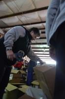 Sealing a box